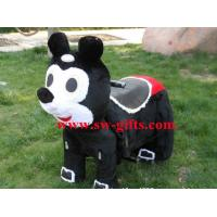 Wholesale kids' electric bike riding toys,motorized plush riding animals,plush sit on animals toys from china suppliers