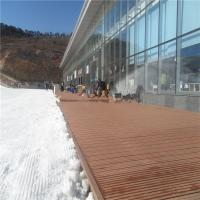 Wholesale Outdoor solid WPC wood flooring deckings in ski resort (RMD-57) from china suppliers