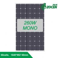 Wholesale 260W efficiency Monocrystalline Solar Panels Connecting Delta Inverter for Home System from china suppliers