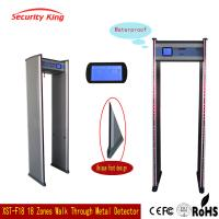 Wholesale Adjusted Sensitivity XST - F18 Walk Through Metal Detector Rental LCD Screen from china suppliers