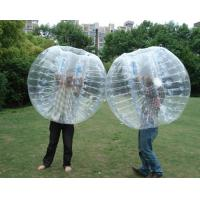 Wholesale Transparent Bumper Balls Inflatable Bubble Football 1.5m for Rental from china suppliers