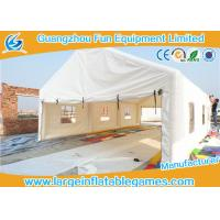 Wholesale Outdoor Commercial Inflatable Wedding Tent Waterproof With Air Blower from china suppliers
