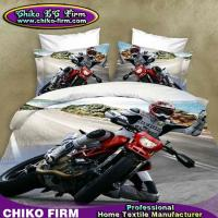 Wholesale Pure Polyester King Size Motorbike Driver 3D Duvet Cover Sets from china suppliers