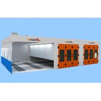 Wholesale Preparation Area, Painting Spraying And Dry Portable Large Spray Booth With Back Generator from china suppliers