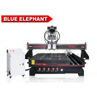 Wholesale Pneumatic System 4 Axis Multi - Head CNC Router Double Spindle with Routary Device from china suppliers