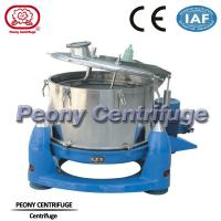 Wholesale Manual Discharge Vertical Basket Centrifuge , Bag Lifting Top Discharge Centrifuge Machine from china suppliers