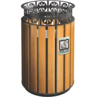 Quality KQ60280K 32 Gallon 13 Gallon Trash Can Stainless Steel For Public , CE Certification for sale
