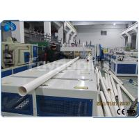 Wholesale 75~250mm PVC Pipe Manufacturing Machine With Siemens PLC Electric Control from china suppliers