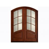 Wholesale Lacquer Finish Exterior Timber Doors For Residential Building from china suppliers