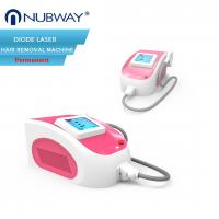 Buy cheap 2018 hot selling professional portable 808nm diode laser hair removal machine from wholesalers