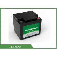Wholesale 24V 25Ah Medical Device Battery , Medical Cart Battery Deep Cycle from china suppliers