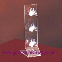 Buy cheap Clear Acrylic Eyeglasses Display Rack Plexiglass Sunglasses Counter Display Stand from wholesalers