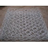 Wholesale 60×80 Mm Pvc Coated Gabion Baskets Gabion Mattress For Embankment / Dike from china suppliers