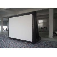 Wholesale Outdoor 0.55mm PVC Tarpaulin Inflatable Model , Inflatable Movie Screen For  Family / Party Time from china suppliers