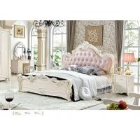 Wholesale 6001;  leather bed, bedroom set,Royal style bedroom furniture,hotel furnitue,bed side table,dresser,Night stand,wardrobe from china suppliers