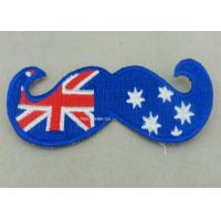 Wholesale Australia Woven Custom Embroidery Patches Lapel For Business from china suppliers