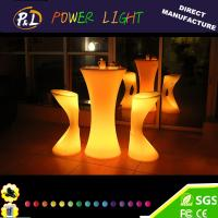 Wholesale Bar Furniture Rechargeable LED Poseur Table from china suppliers