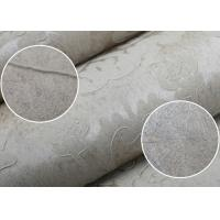Wholesale Grey Floral Wet Embossed Home Damask European Style Wallpaper Waterproof from china suppliers