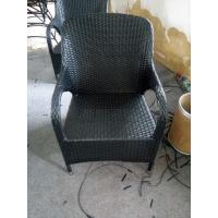 Wholesale 2016 High quality Modern Plastic rattan chair with black color from china suppliers