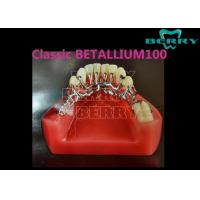 Wholesale False Teeth Dentures Cast Partial Framework High Antibiosis Excellent Fracture Resistance from china suppliers