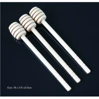 Buy cheap Wood Dipper Wedding Favors Gifts,Honey Sticks Love Wedding Favors, Honey Stirred Rod Garden Wedding Themet 16x2.8cm from wholesalers