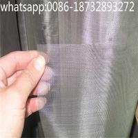 Wholesale pure tungsten wire cloth tungsten wire mesh/150 mesh pure tungsten wire cloth tungsten wire mesh from china suppliers