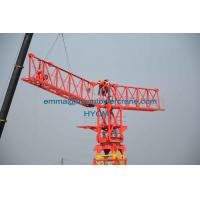 Wholesale QTP7532 Flat Top Tower Crane External Climbing Type 3M Potain Mast Section from china suppliers