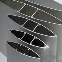 Wholesale Anodize  Aluminium Extrusion Profiles Fans , Extrusion Aluminum Airfoil Blade from china suppliers