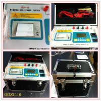 Buy cheap GDZC Transformer Resistance Tester DC from wholesalers