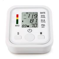 Wholesale LCD Digital Display Screen Home Automatic Wrist Blood Pressure Pulse Sphygmomanometer from china suppliers