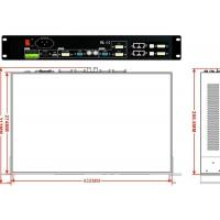 Wholesale High - Definition Display Wall Controller , 2x2 Video Wall Processor A8 Card from china suppliers