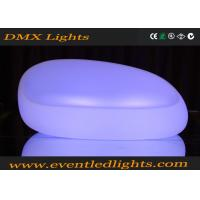 Wholesale Outdoor Lighting LED Light Up Sofa With Remote Controller / Led Illuminated Furniture from china suppliers