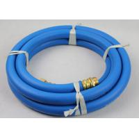 "Wholesale 50ft Length ID 3/4"" Reinforced Water Hose with 3/4"" Nickle plated Brass Fittings from china suppliers"