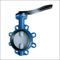 Wholesale DN100 Cast Iron Wafer Fire Fighting Butterfly Valve from china suppliers