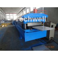 Wholesale Reasonable Cold Roll Forming Machine For PU Roof Panels , PPGI Galvanized Steel Raw Material from china suppliers