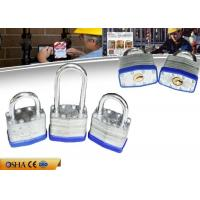 Wholesale Safety Lockout Padlocks 52 MM Laminated Steel Door 110g Weight Metal Sheet from china suppliers