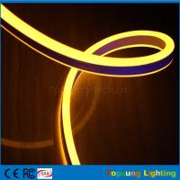 Wholesale whole sale 24V double side yellow led neon flexible strip for outdoor from china suppliers