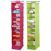 Wholesale printed non woven fabric hanging organizer from china suppliers