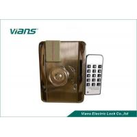 Wholesale EM Card Home Security Door Locks With Remote Control Open , Nickel Plating Finish from china suppliers