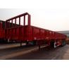 Buy cheap 3 axles  fence trailer  90ton semi trucks cargo semi trailer  - CIMC from wholesalers