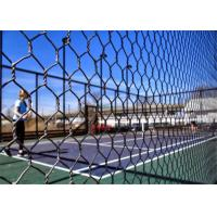 Buy cheap PaddleTennis Court Wire Fencing  , Galvanized After Weaving , 16 Gauge , 1 Inch from wholesalers