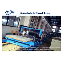 Wholesale 100-200MM Thickness Galvanized Steel PU Sandwich Production Line from china suppliers