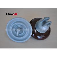 Quality ANSI 52-1 Porcelain Suspension Insulator Anti Fog OEM / ODM Available for sale