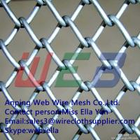 Wholesale electro&hot-dipped galvanized chain link fence from china suppliers