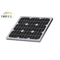 Quality Mono Monocrystalline Air Conditioner Solar Panels Silicon Solar Panel SPM20W 20W for sale
