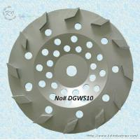 Wholesale Rhombic Segment Cup Grinding Wheel - DGWS10 from china suppliers