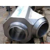 Wholesale Duplex stainless 2205 forged lateral tee from china suppliers