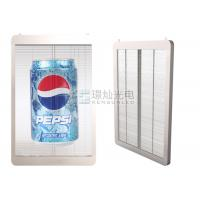 Wholesale P10 1R1G1B Transparent Indoor Glass Glass Wall LED Screen For Building Advertising from china suppliers