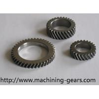 Wholesale Textile Machinery Carbon Steel / Aluminum Left Hand Helical Gear With Powder Coating from china suppliers