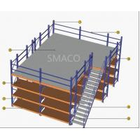 Wholesale Patented Light-steel Floor Panel Structure Warehouse Storage Platform Racking Multiply - Level Mezzanine Floor System from china suppliers